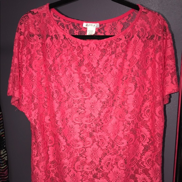 Honey and Lace Tops - Lace Valencia top